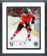 Ottawa Senators Curtis Lazar Action Framed Photo