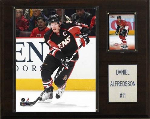 "Ottawa Senators Daniel Alfredsson 12"" x 15"" Player Plaque"