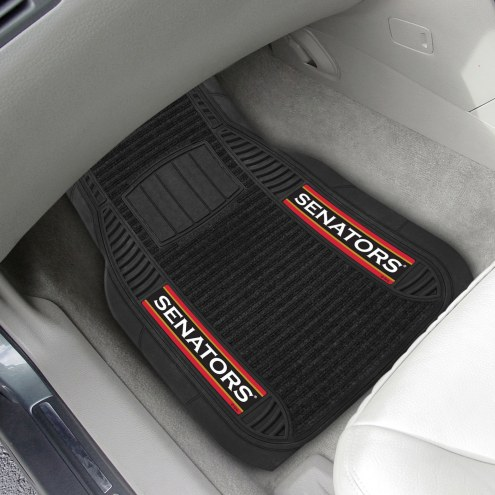 Ottawa Senators Deluxe Car Floor Mat Set