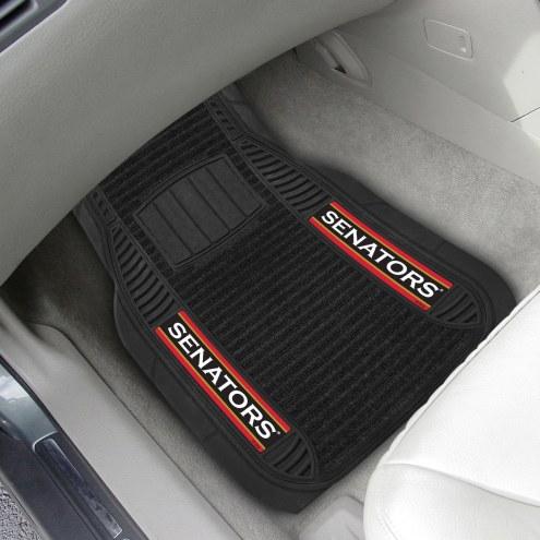Ottawa Senators Deluxe Car Floor Mat Set