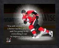 Ottawa Senators Erik Karlsson Framed Pro Quote