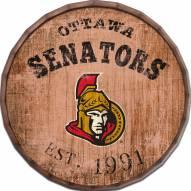 "Ottawa Senators Established Date 24"" Barrel Top"