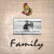 Ottawa Senators Family Picture Frame