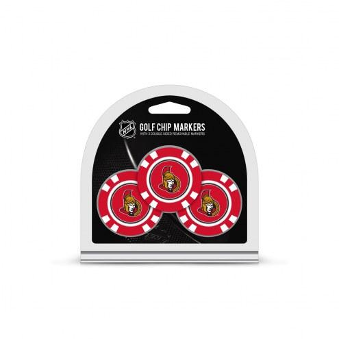 Ottawa Senators Golf Chip Ball Markers