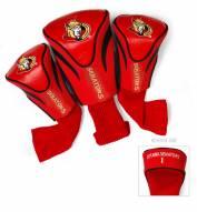 Ottawa Senators Golf Headcovers - 3 Pack