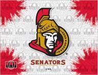 Ottawa Senators Logo Canvas Print