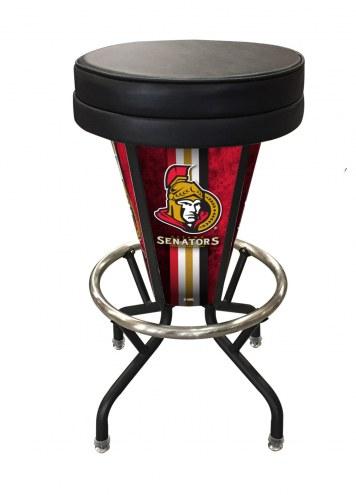 Ottawa Senators Indoor/Outdoor Lighted Bar Stool