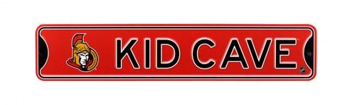 Ottawa Senators Kid Cave Street Sign
