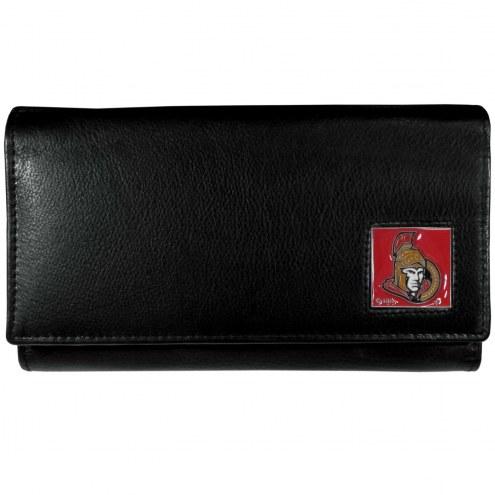 Ottawa Senators Leather Women's Wallet