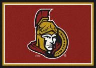 Ottawa Senators NHL Team Spirit Area Rug