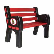 Ottawa Senators Park Bench