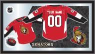 Ottawa Senators Personalized Jersey Mirror