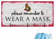Ottawa Senators Please Wear Your Mask Sign