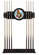 Ottawa Senators Pool Cue Rack
