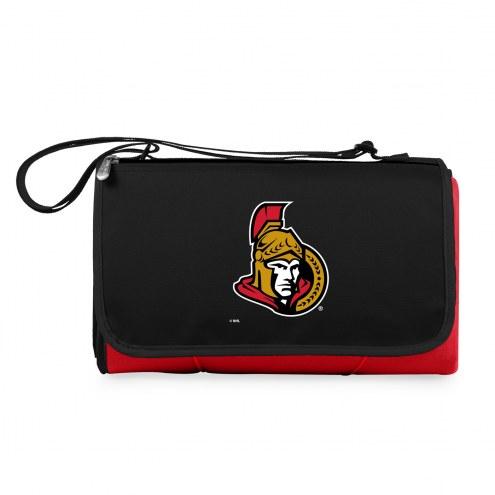 Ottawa Senators Red Blanket Tote