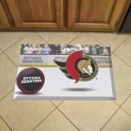 Ottawa Senators Scraper Door Mat