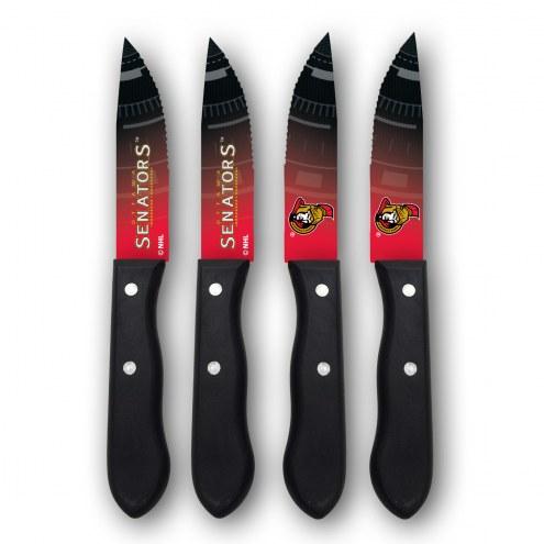 Ottawa Senators Steak Knives