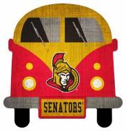Ottawa Senators Team Bus Sign