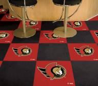 Ottawa Senators Team Carpet Tiles