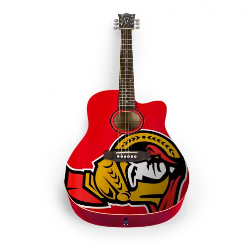 Ottawa Senators Woodrow Acoustic Guitar