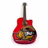Ottawa Senators Woodrow Acoustic Guitar