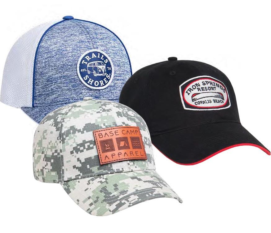 Pacific Headwear Custom Patch Hat