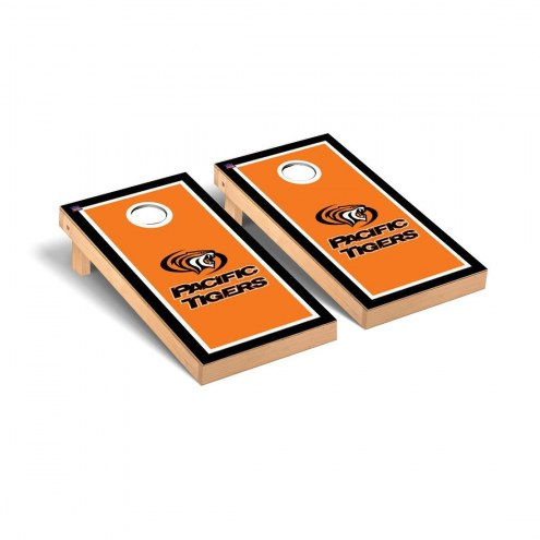 Pacific Tigers Border Cornhole Game Set