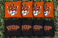Pacific Tigers College Vault Cornhole Bag Set
