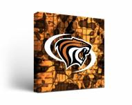 Pacific Tigers Fight Song Canvas Wall Art