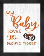 Pacific Tigers My Baby Loves Framed Print