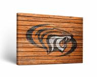 Pacific Tigers Weathered Canvas Wall Art