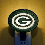 Green Bay Packers NFL Stained Glass Night Light