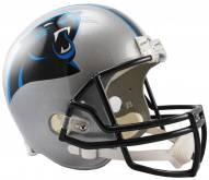 Riddell Carolina Panthers Deluxe Collectible NFL Football Helmet