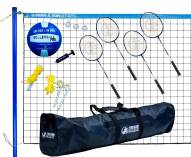 Park & Sun Volley Sport Combo Badminton/Volleyball Set