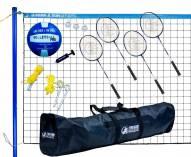 Park & Sun Volley Sport Combo Badminton/Volleyball Set