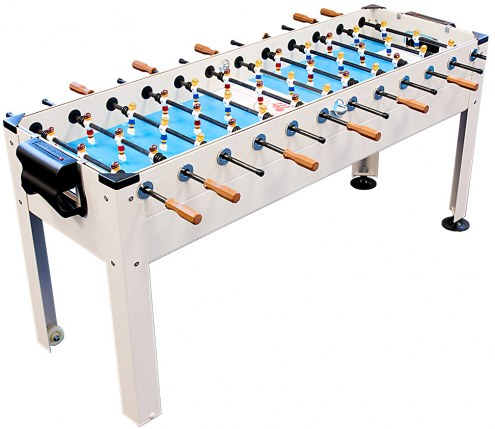 Park & Sun Blue Sky 6 Player Soccer Table
