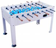 Park & Sun Blue Sky Beechwood Outdoor Foosball Table
