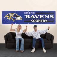 Baltimore Ravens NFL 8' Banner