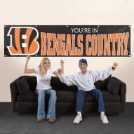 Cincinnati Bengals NFL 8' Banner