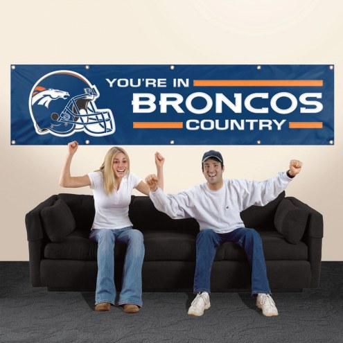 Denver Broncos NFL 8' Banner