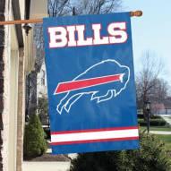 Buffalo Bills NFL Applique 2-Sided Banner Flag