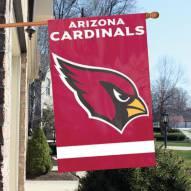 Arizona Cardinals NFL Applique 2-Sided Banner Flag