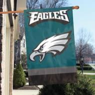 Philadelphia Eagles NFL Applique 2-Sided Banner Flag