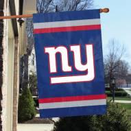 New York Giants NFL Applique 2-Sided Banner Flag