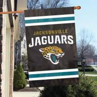 Jacksonville Jaguars NFL Applique 2-Sided Banner Flag