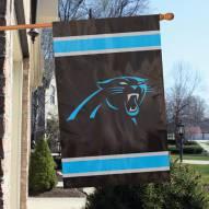 Carolina Panthers NFL Applique 2-Sided Banner Flag