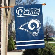 Los Angeles Rams NFL Applique 2-Sided Banner Flag