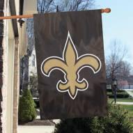 New Orleans Saints NFL Applique 2-Sided Banner Flag
