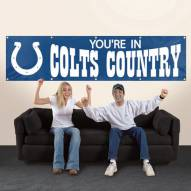 Indianapolis Colts NFL 8' Banner