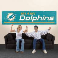 Miami Dolphins NFL 8' Banner